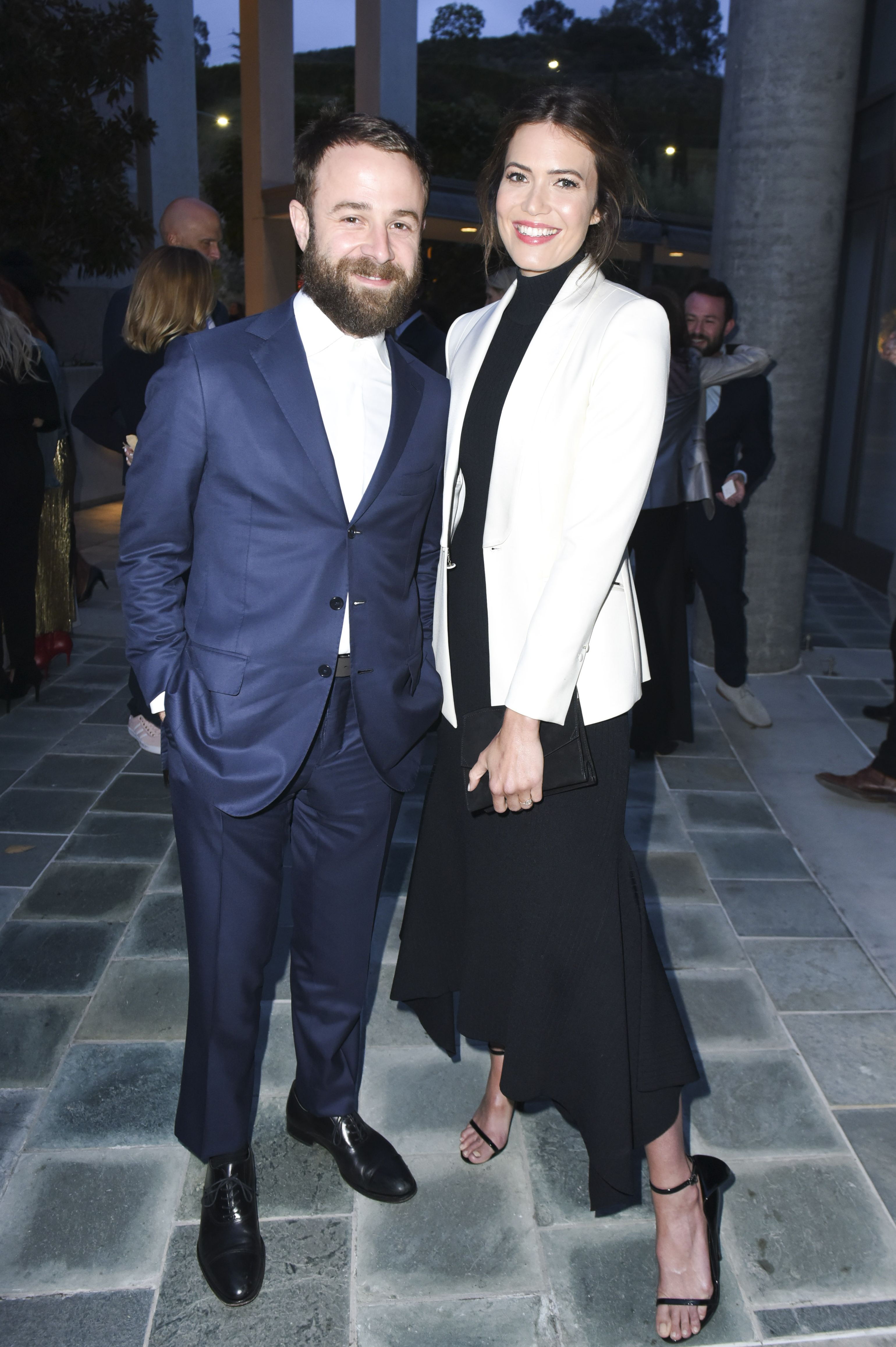 Mandy Moore and Taylor Goldsmith met after she fangirled on Instagram.