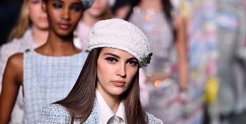 Clothing, Beanie, Fashion, Street fashion, Knit cap, Beauty, Turban, Headgear, Cap, Lip,