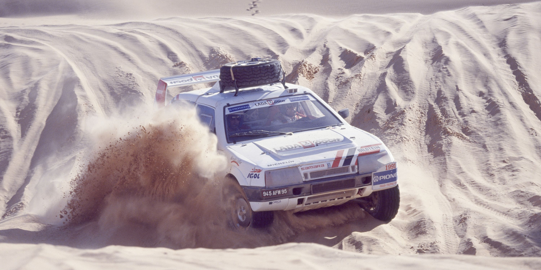 Rallye Paris-Dakar en 1991