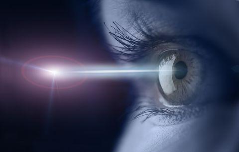 Blue, Eye, Eyelash, Iris, Organ, Close-up, Macro photography, Sky, Human body, Photography,