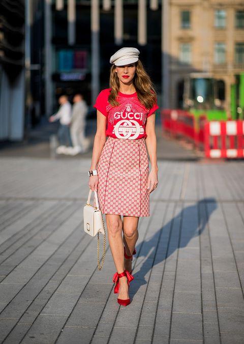Clothing, White, Street fashion, Photograph, Fashion model, Fashion, Red, Dress, Snapshot, Beauty,