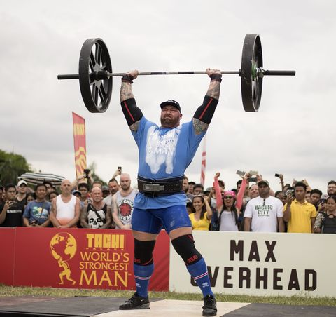 The Mountain World's Strongest Man 2018