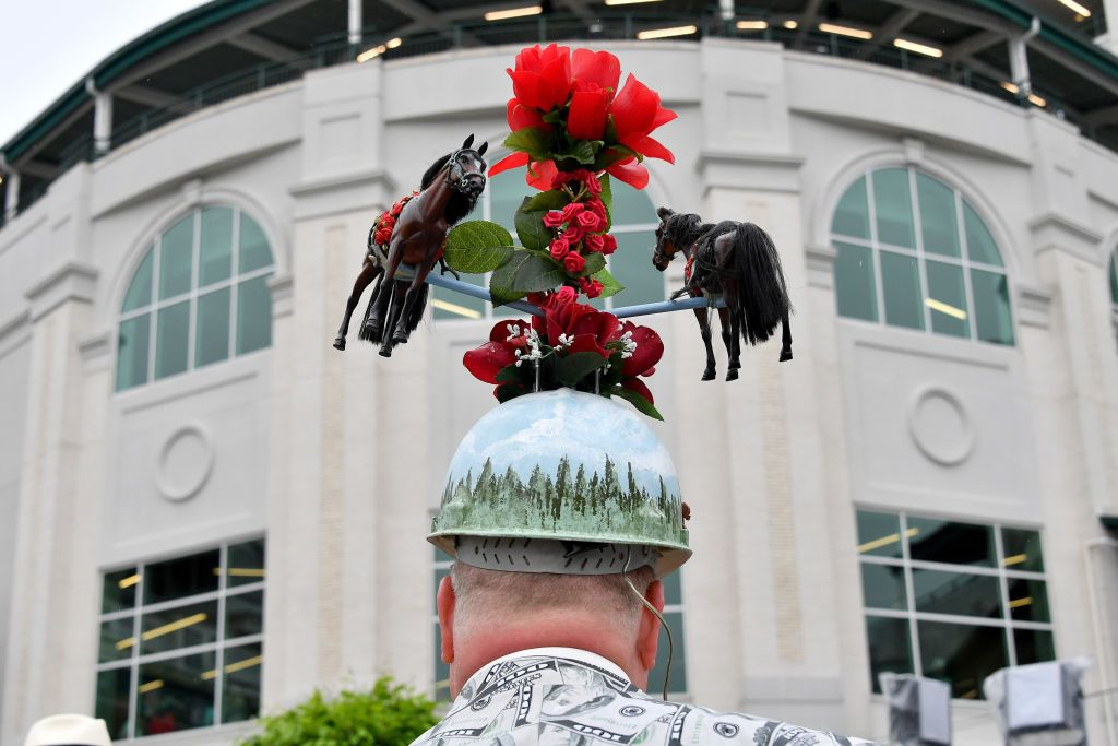59d2bc9e51ba1 The Craziest Kentucky Derby Hats to Get You Excited for the 2018 ...