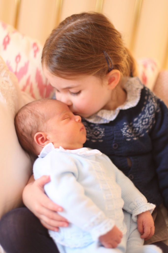Prince Louis first photos