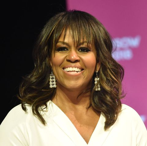 former us first lady michelle obama attends the united state of women summit at the shrine auditorium in los angeles, on may 5, 2018 photo by chris delmas  afp        photo credit should read chris delmasafp via getty images