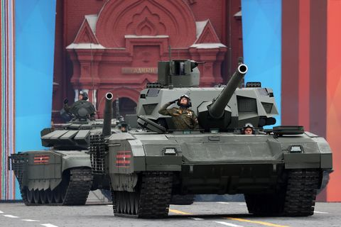 Dress rehearsal of Victory Day Parade in Moscow