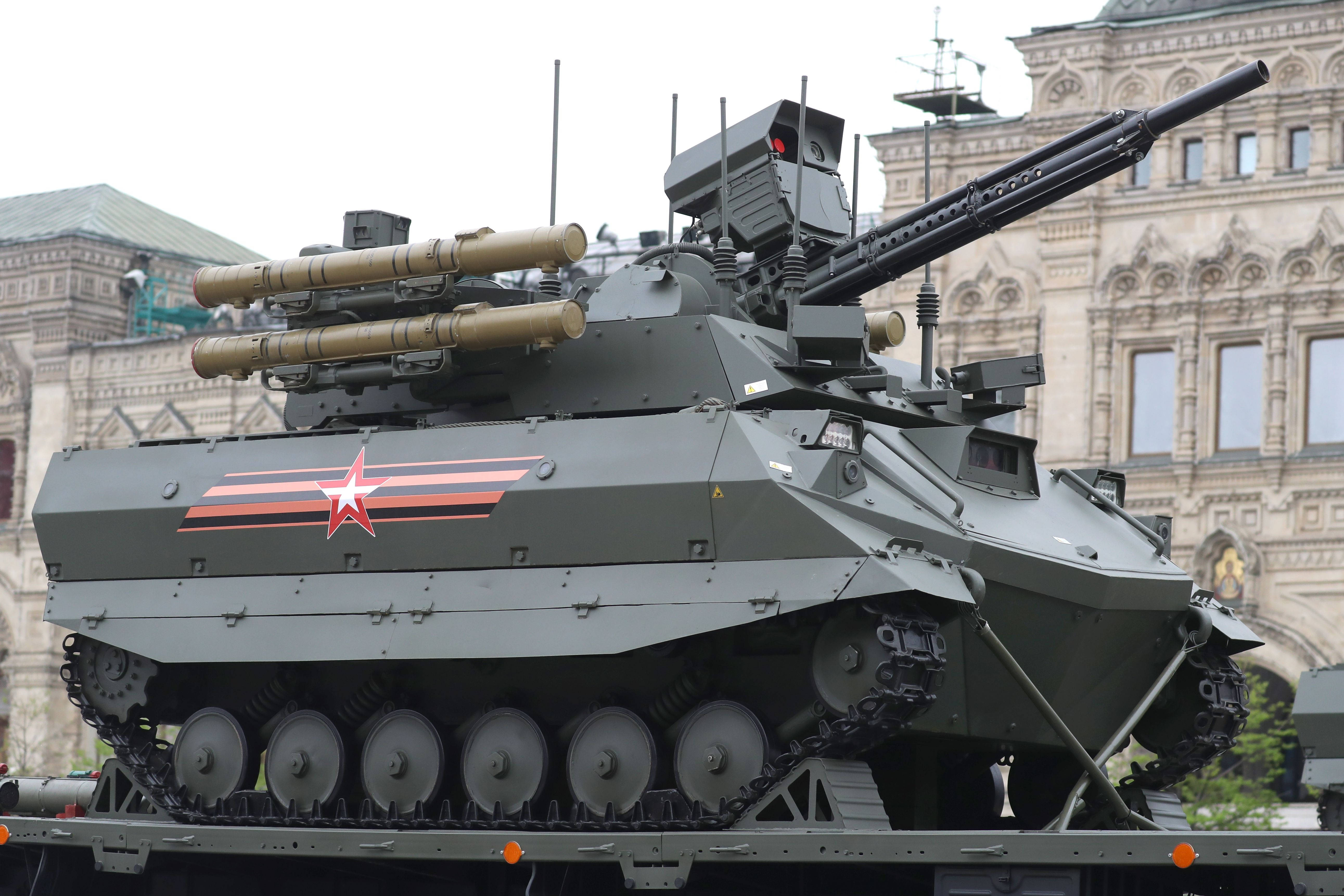 Russia's Tank Drone Performed Poorly in Syria