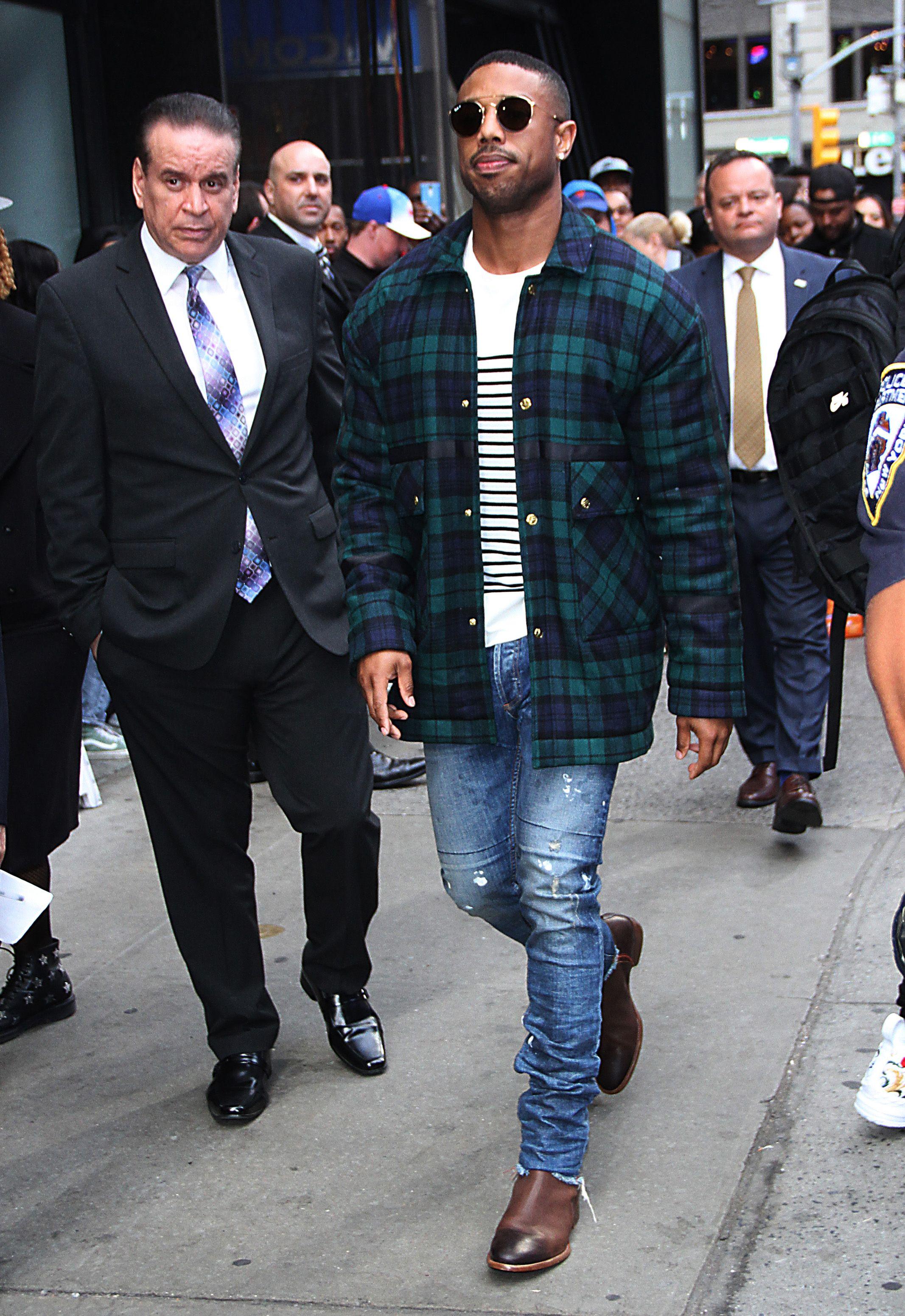 cb26251de53 We Should All Rock Standout Knitwear Like Michael B. Jordan