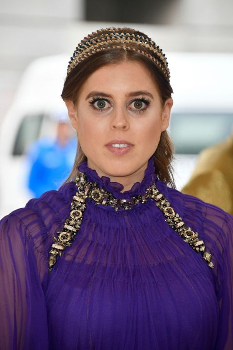 Princess Beatrice Owned The 2018 Met Gala In A Regal
