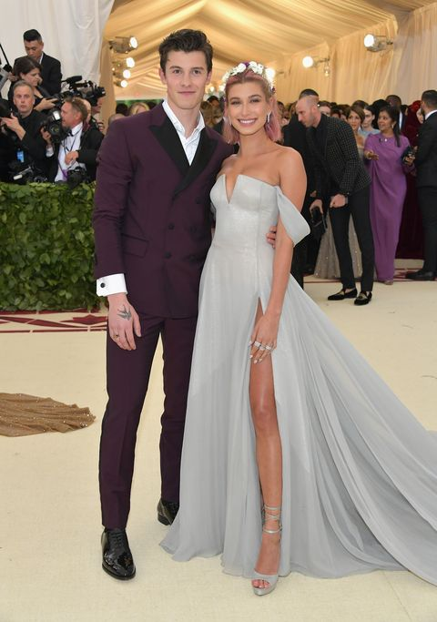 Hailey baldwin and shawn mendes confirm relationship at the met gala image m4hsunfo