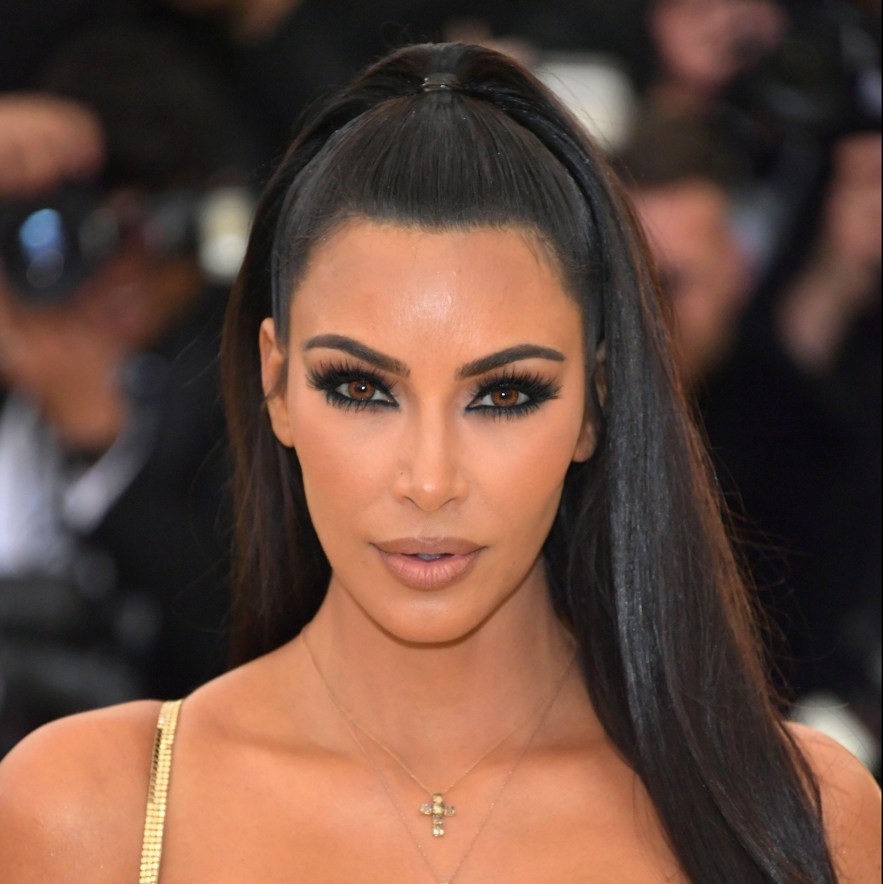 Kim Kardashian Met Gala 2018 Makeup Look Kim Kardashian