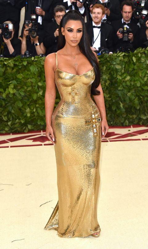 Resultado de imagen para kim kardashian met gala 2018