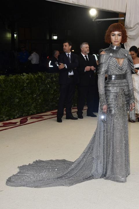 Zendaya Dressed Like Joan Of Arc For The Met Gala