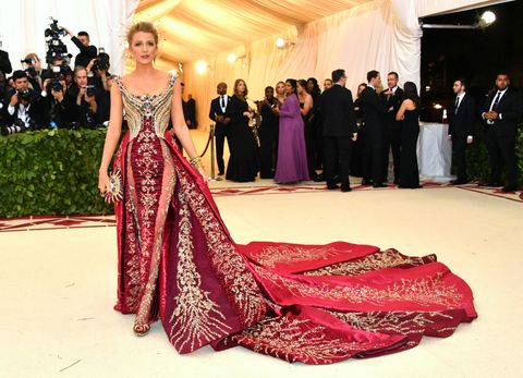 Blake Lively attends the 2018 Met Gala