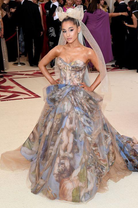 ariana grande met gala 2018 dress - arrivals