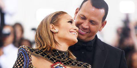 Jennifer Lopez Alex Rodriguez Met Gala 2018