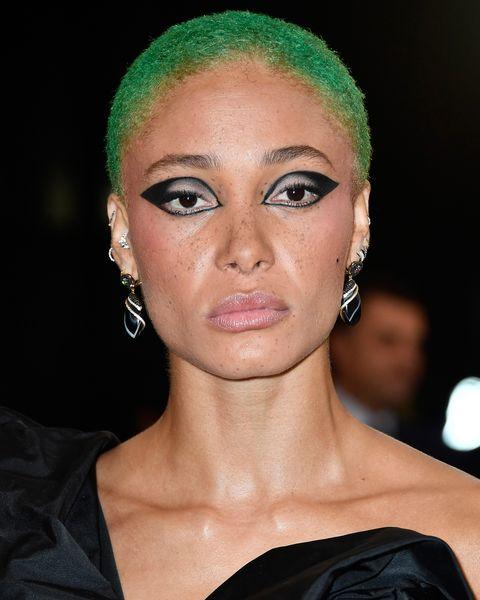 Adwoa Aboah Met Gala Hair And Makeup