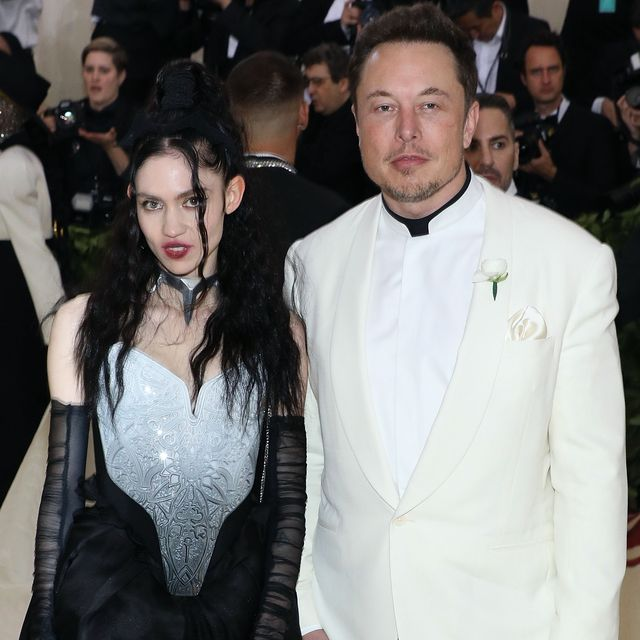 new york, ny   may 07  grimes and elon musk attend heavenly bodies fashion  the catholic imagination, the 2018 costume institute benefit at metropolitan museum of art on may 7, 2018 in new york city  photo by taylor hillgetty images
