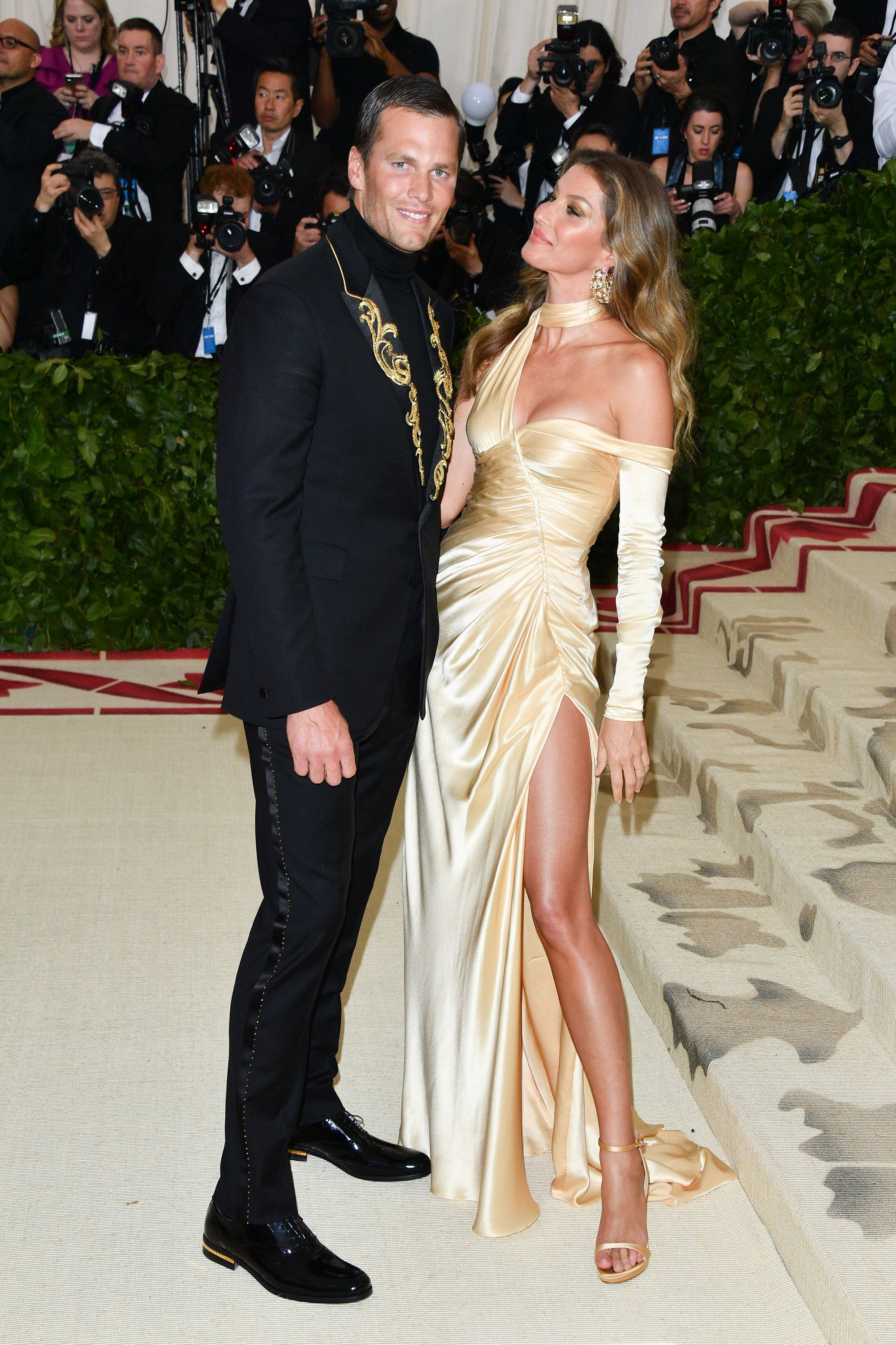Tom Brady and Gisele Bündchen met on a blind date, too!