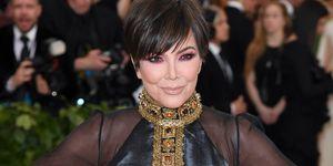 Kris Jenner Met Gala Kylie Cosmetics