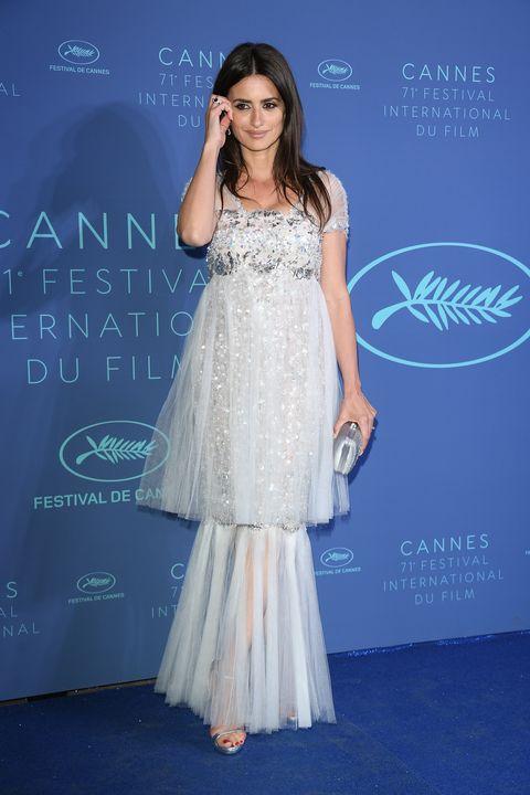 Penélope Cruz en la fiesta de Swarovski en Cannes 2018