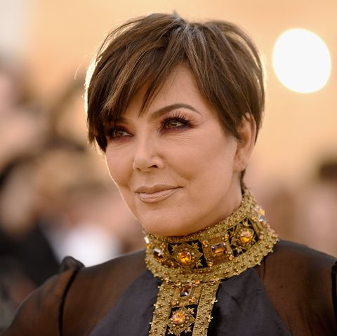 Kris Jenner Got a Hair Transformation and Her Textured Lob ...