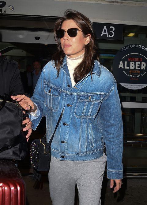 Denim, Jeans, Eyewear, Clothing, Sunglasses, Textile, Jacket, Fashion, Cool, Street fashion,