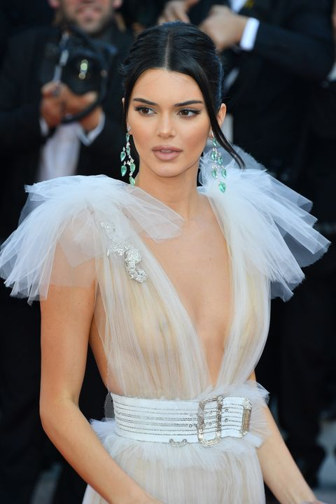 Kendall Jenner S Latest Cannes Look Of A Glamorous White