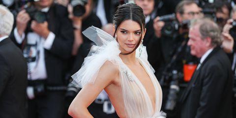 Kendall Jenner Schiaparelli White Dress Cannes Film Festival 2018
