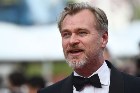 british director christopher nolan poses as he arrives on may 13, 2018 for the screening of a remastered version of the film 2001 a space odyssey at the 71st edition of the cannes film festival in cannes, southern france photo by anne christine poujoulat  afp        photo credit should read anne christine poujoulatafp via getty images
