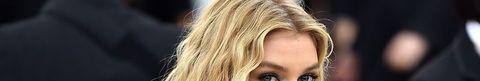 Hair, Face, Blond, Hairstyle, Eyebrow, Lip, Beauty, Long hair, Chin, Layered hair,