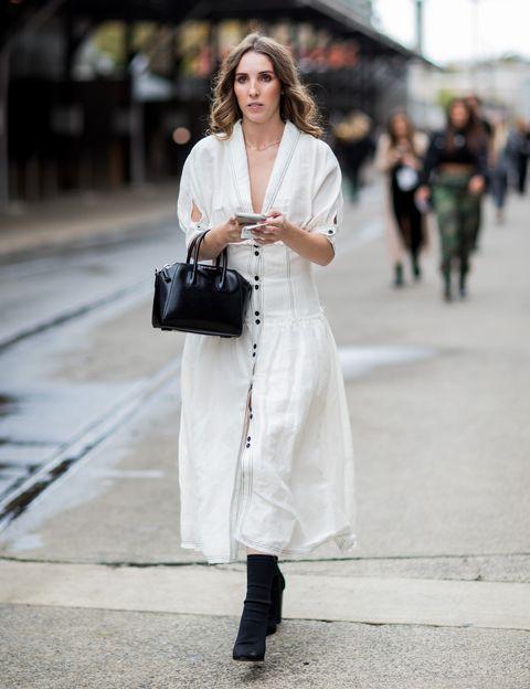 時裝週街拍, 澳洲時裝週, 穿搭, 裙裝