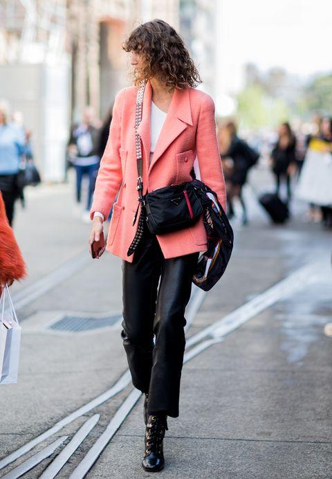Street fashion, Clothing, White, Photograph, Fashion, Pink, Jeans, Red, Snapshot, Footwear,