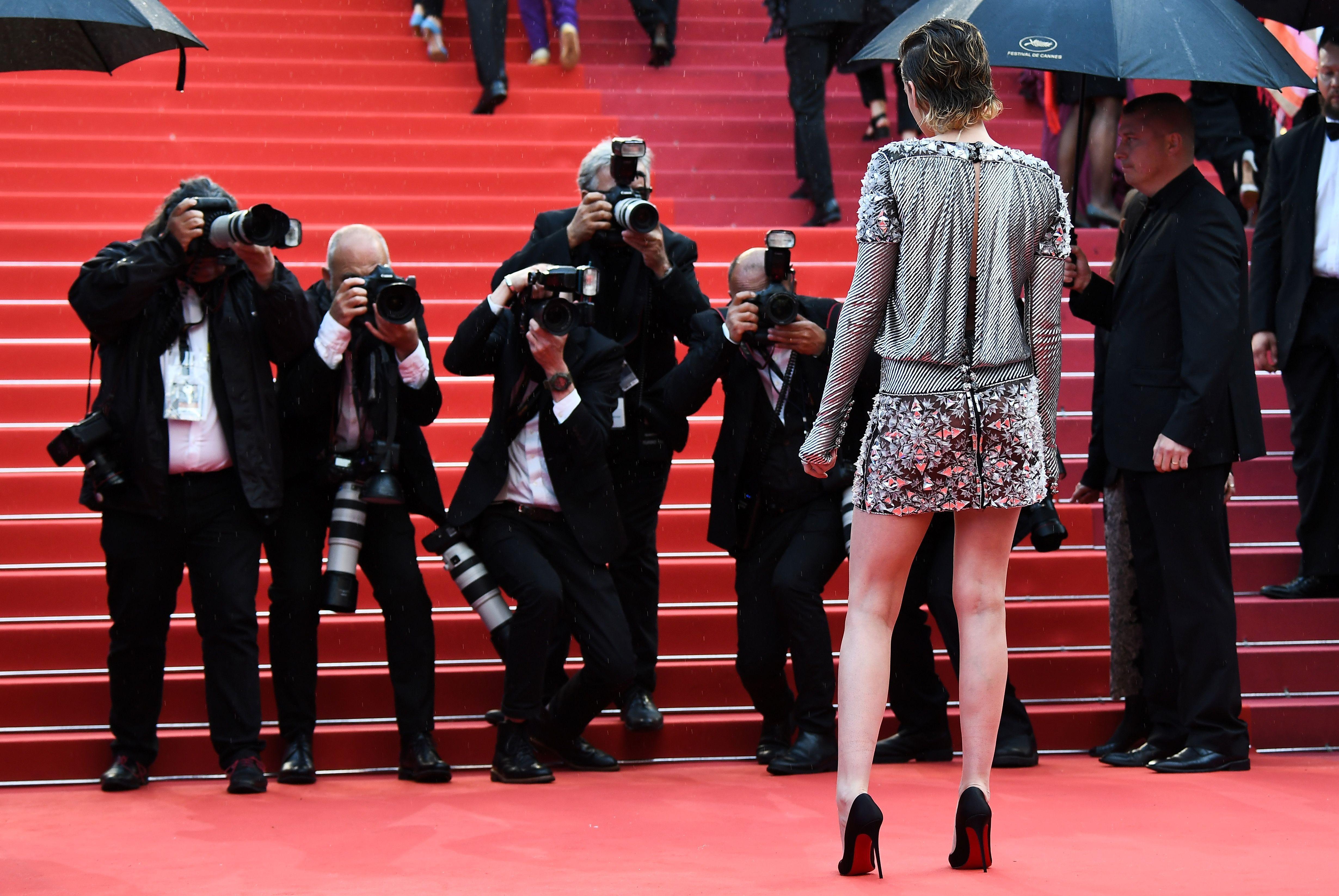 克莉絲汀史都華,高跟鞋,坎城影展