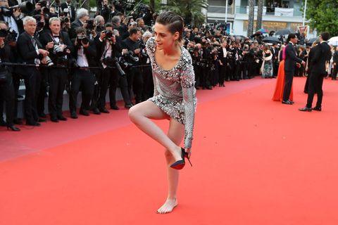 克莉絲汀史都華, 脫高跟鞋,Kristen Stewart, 紅毯潛規則