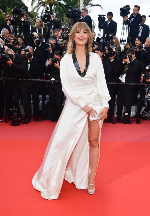 Petra Nemcova en el Festival de Cine de Cannes. 14 de mayo de 2018