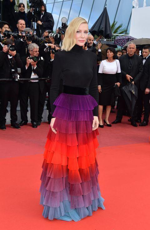 Cate Blanchett en el Festival de Cine de Cannes. 14 de mayo de 2018