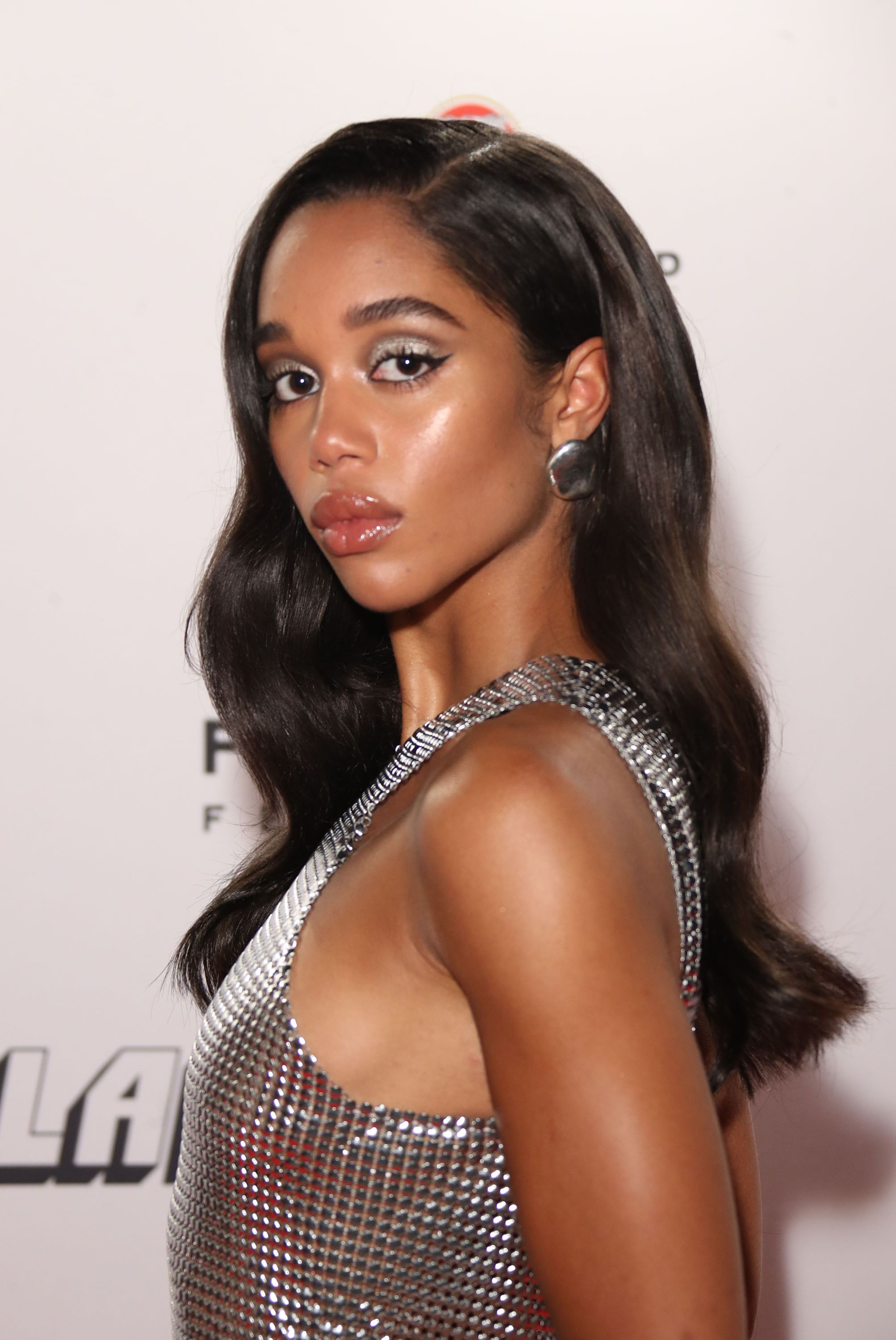 Laura Harrier's Old Hollywood Curls