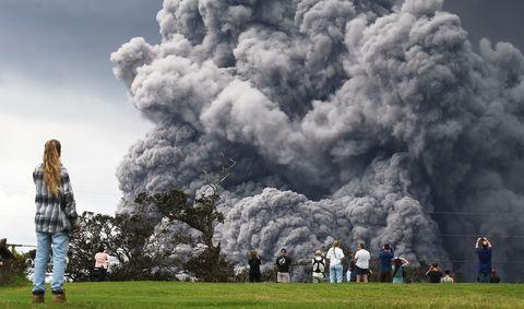 Smoke, Explosion, Cloud, Sky, Pollution, Cumulus, Rock,