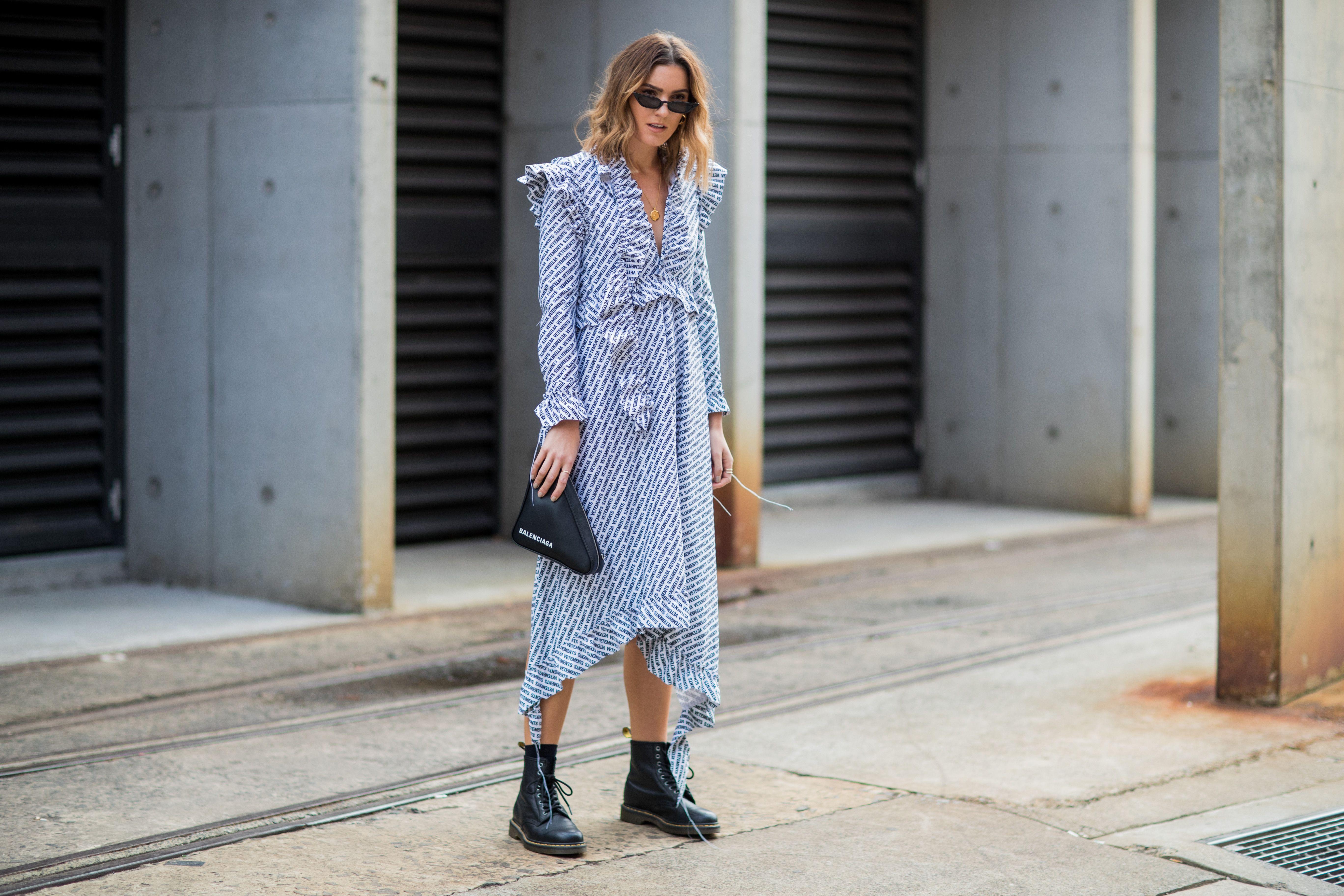 Mercedes-Benz Fashion Week Australia Street Style Sydney