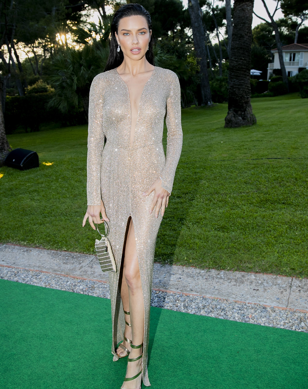 Adriana Lima en la Gala amfAR de Cannes 2018