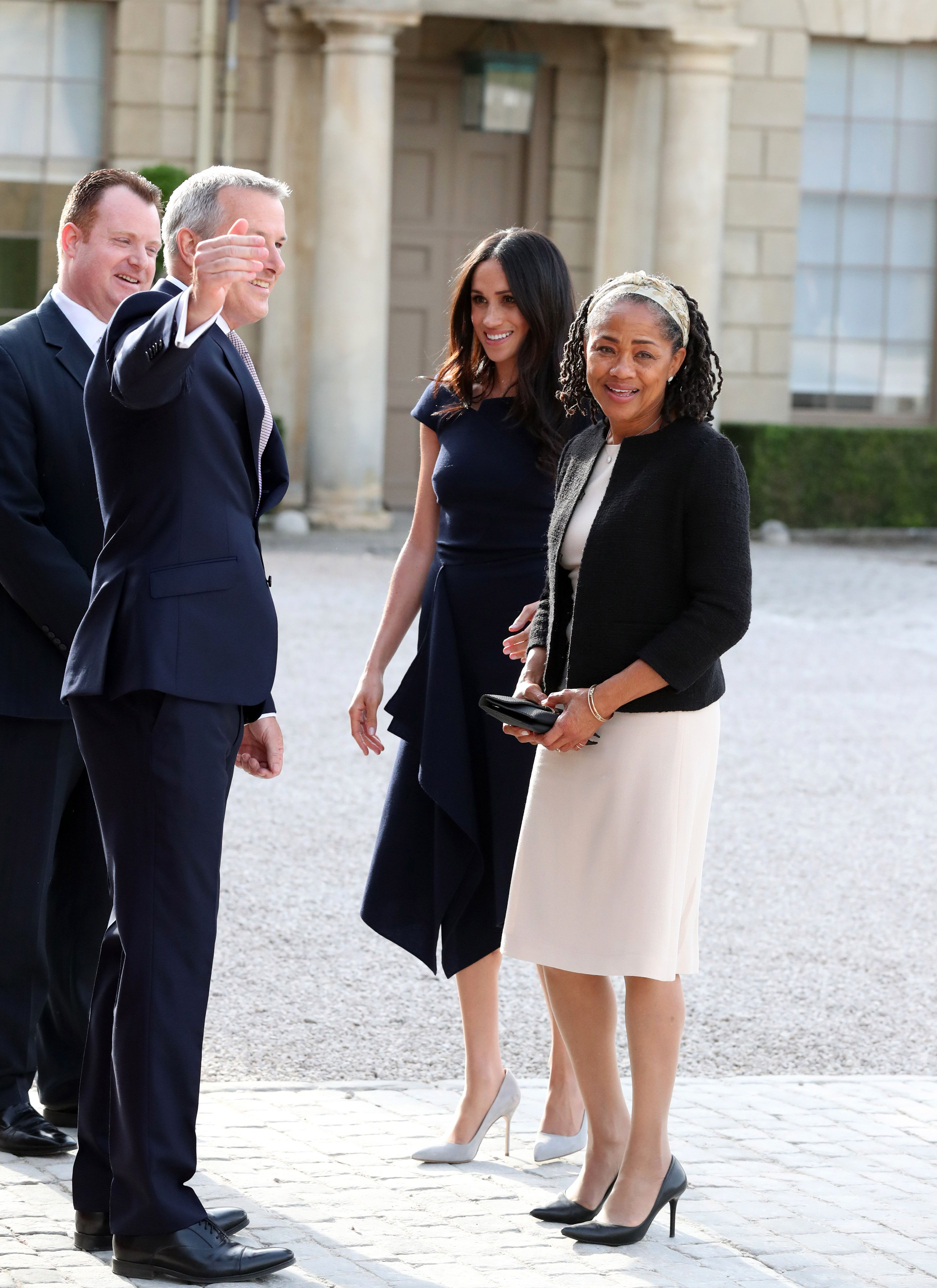 Meghan Markle's Mother Doria Ragland Has Arrived in London Ahead of the Birth of Baby Sussex