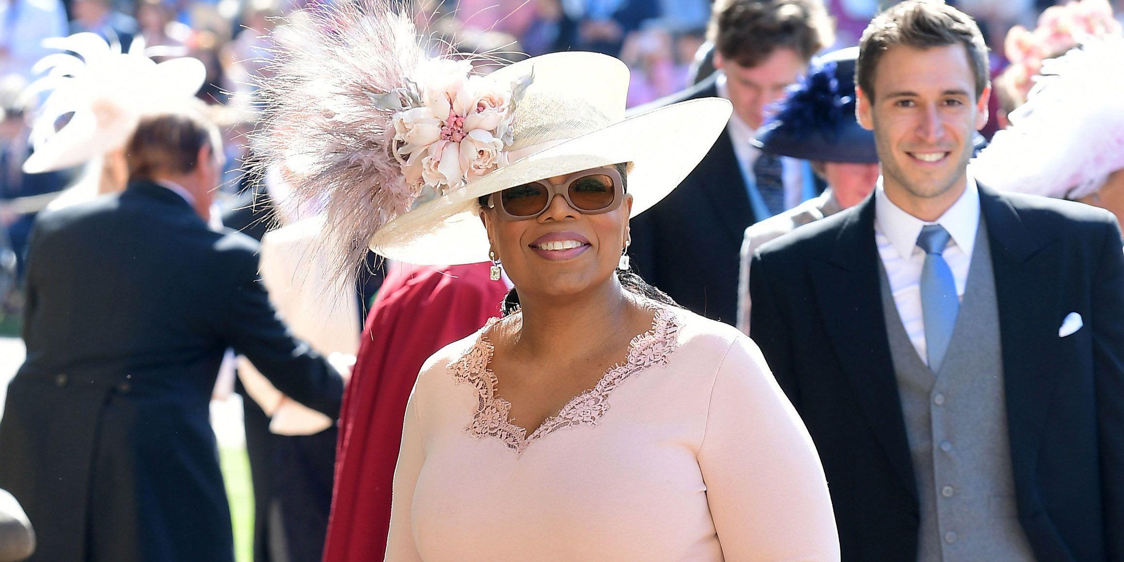 Oprah Winfrey Royal Wedding.Oprah Winfrey Reveals The Adorable Message She Took Away From Meghan