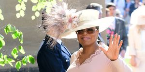 Oprah Winfrey royal wedding celebrity guests