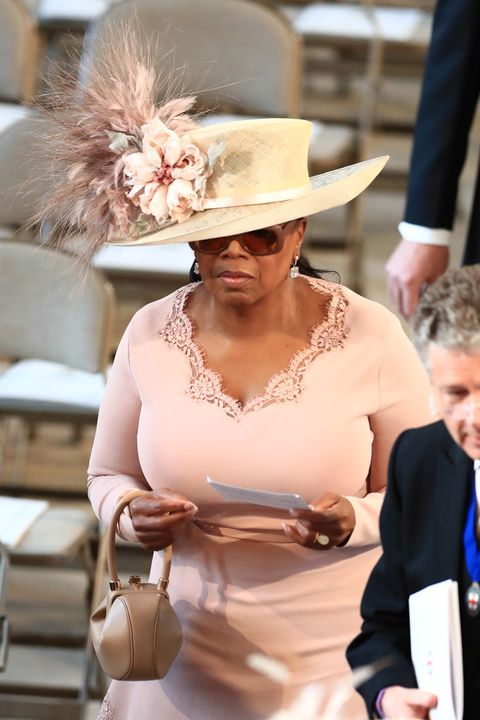 9b339962e2d89 The Craziest Royal Wedding Guest Hats and Fascinators at Meghan ...