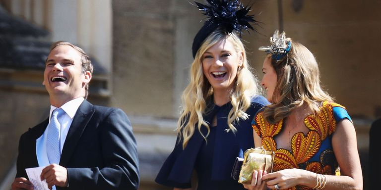 Prince Harry S Ex Chelsy Davy Just Arrived To His Royal