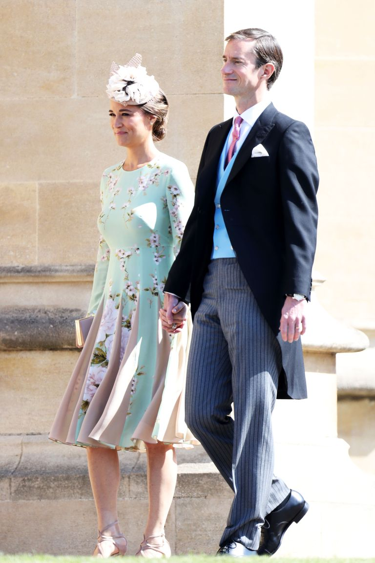 Pippa Middleton S Baby Bump Spotted At The Royal Wedding