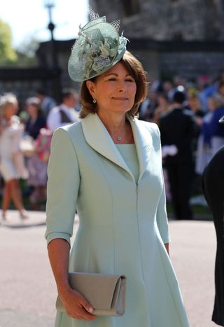Carole Middleton Royal Wedding