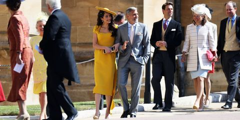 Guests At Royal Wedding.Every Celebrity Guest At Meghan Markle And Prince Harry S Royal Wedding