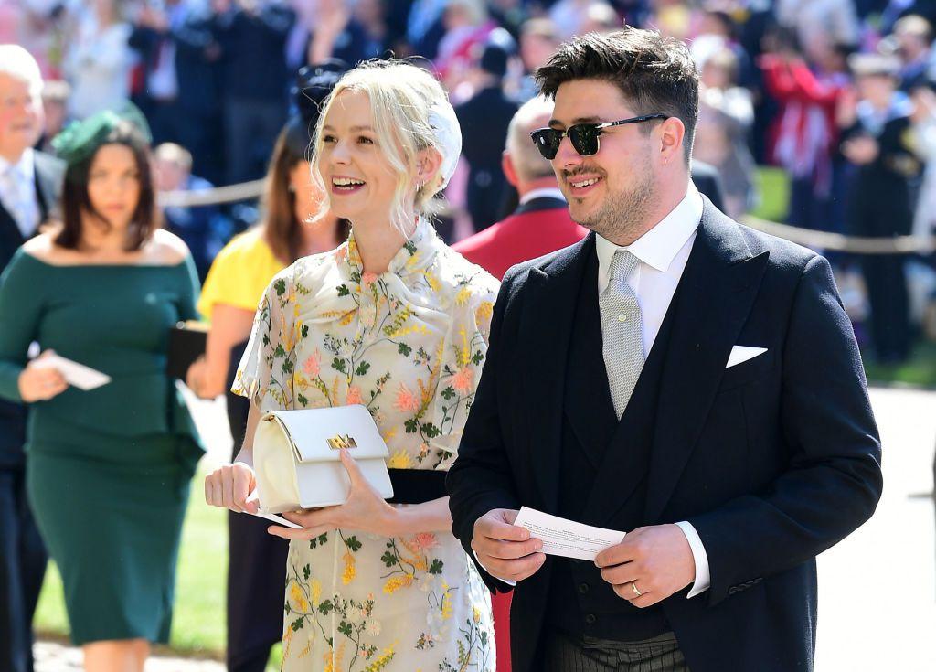 Carey Mulligan Marcus Mumford royal wedding